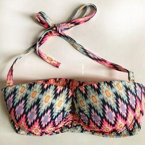 Victoria's Secret 32DD balconet-style swim top